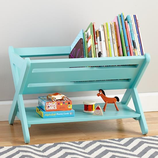 Read Book Shelf storage solutions for kids' books | popsugar moms