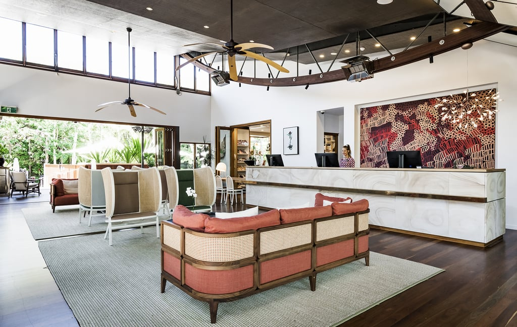 the byron at byron resort renovated interiors popsugar home australia. Black Bedroom Furniture Sets. Home Design Ideas