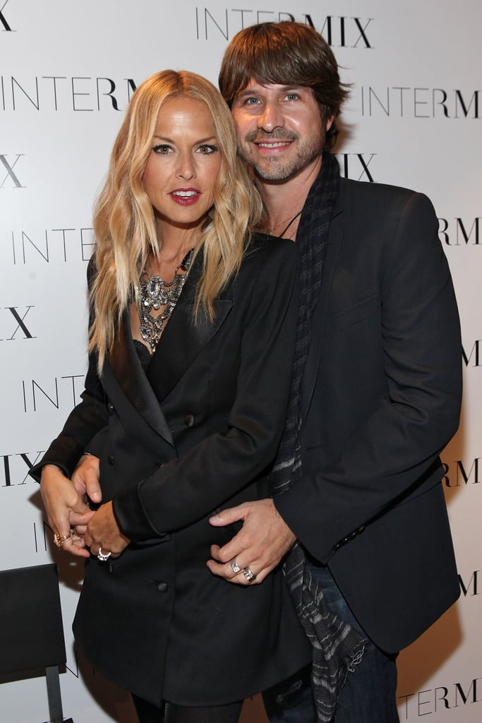 "Rachel Zoe attended a couple Fashion's Night Out events in NYC yesterday. She made two stops around town, hitting Bloomingdale's with her husband Rodger Berman as well as her mom, dad, and sister. Rachel also swung by an Intermix boutique and posed with Mary J. Blige. The superstylist was excited to hang out with Mary, ""Dying! She's everything!"" Fashion week is a crazy one for Rachel, especially since she's showing off her namesake collection Monday. She's also been a front-row fixture over the last few days, checking out Supima, the Missoni for Target launch, and Mimi Plange. Make sure to stay tuned to all our fashion week coverage!"