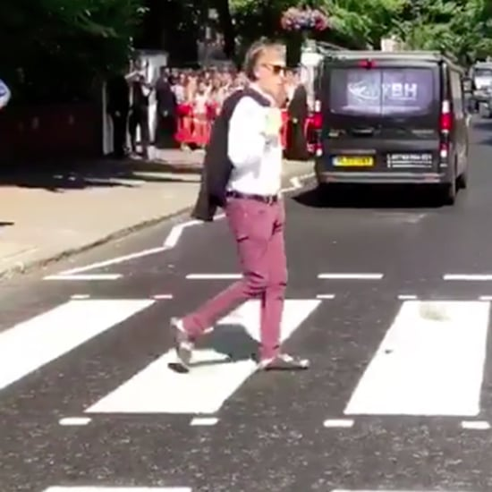 Paul McCartney at Abbey Road July 2018