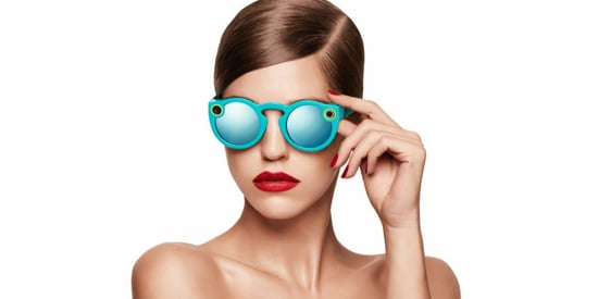 Snapchat Is Making Sunglasses With A Built-In Camera
