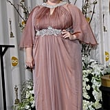 Melissa rocked a blush-colored Marina Rinaldi gown that looked fit for a princess at the 2012 Academy Awards.