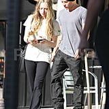 Amanda Seyfried and Ryan Phillippe Juice Up Their Red Hot Relationship