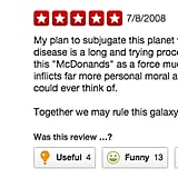 The force is strong with . . . McDonald's