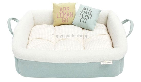 Organic Cotton Dog Bed