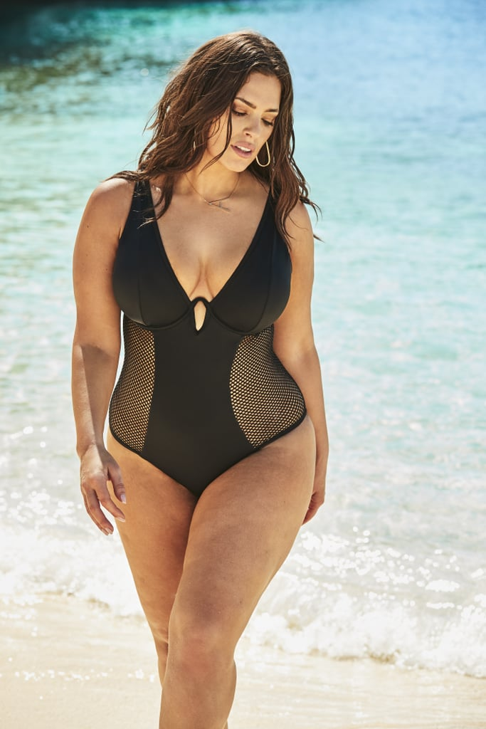 00629e0cec6fe Ashley Graham's Swimsuits For All Campaign With Her Sister | POPSUGAR  Fashion