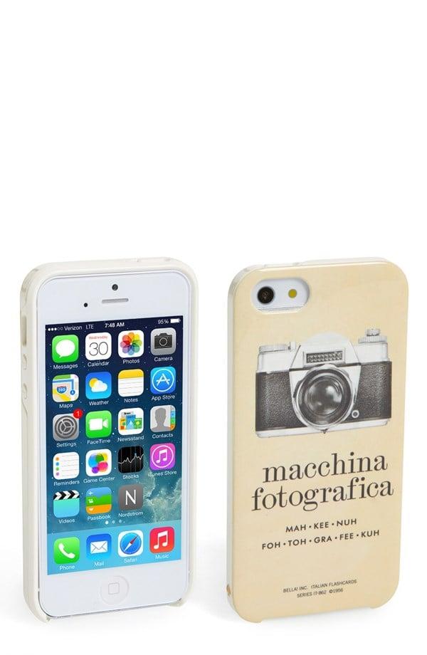 Kate Spade Italian Flashcards iPhone 5 Case