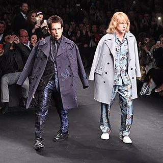 Zoolander at Valentino Fashion Show