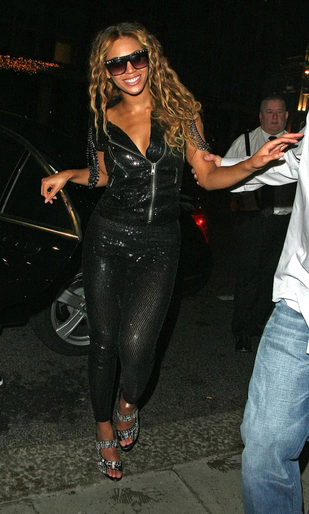 Photos of Beyonce, Jay-Z and JLS in London