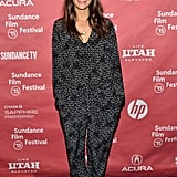Rashida Jones attended the Hot Girls Wanted premiere at Sundance.