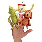 Manhattan Toy Dr. Seuss The Grinch Finger Puppet Set: