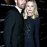 Kate Bosworth posed with boyfriend Michael Polish.