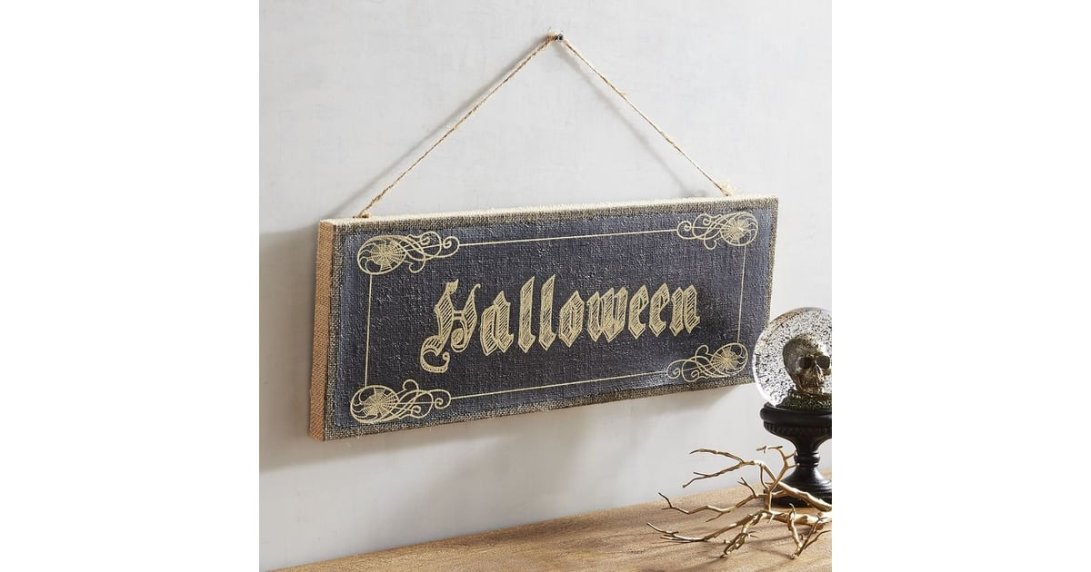 pier 1 imports halloween canvas wall decor halloween decorations from pier 1 imports. Black Bedroom Furniture Sets. Home Design Ideas