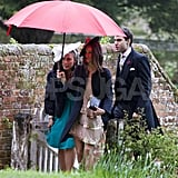 Pippa Middleton had a helping hand at Hannah Gillingham and Robert Carter's wedding in England.