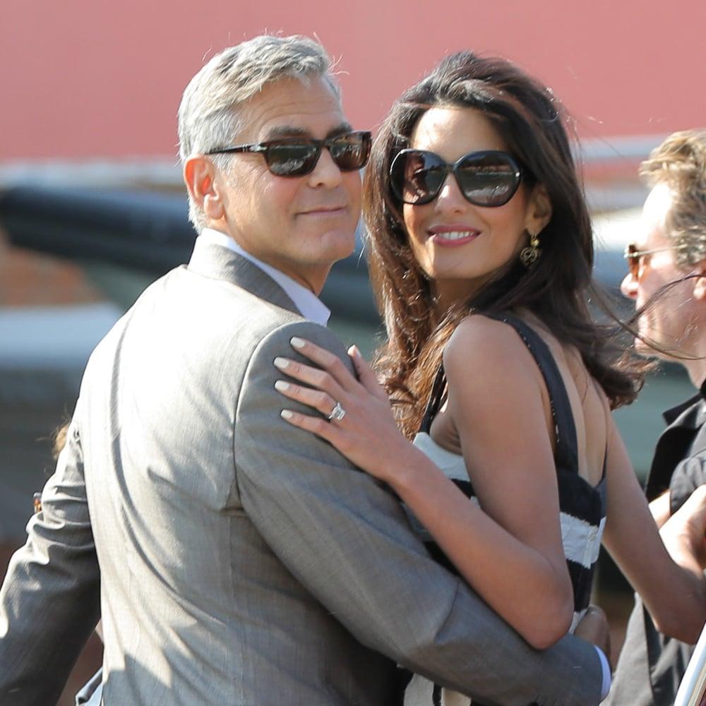 George Clooney and Amal Alamuddins Wedding Preparations POPSUGAR