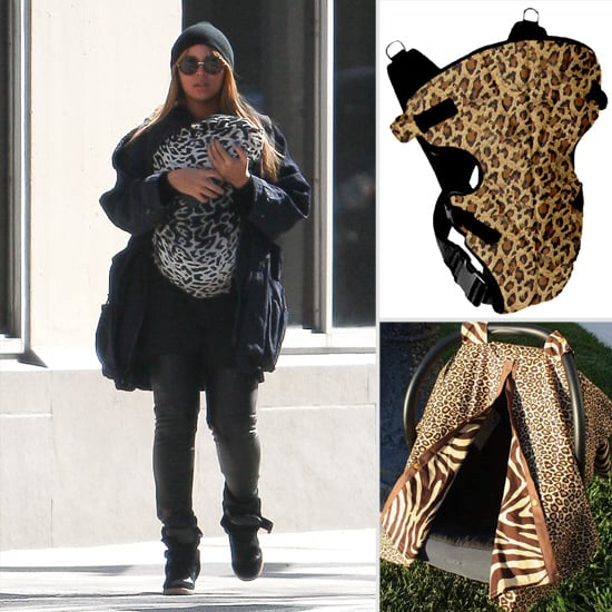 Beyoncé-inspired Animal-Print Baby Carriers