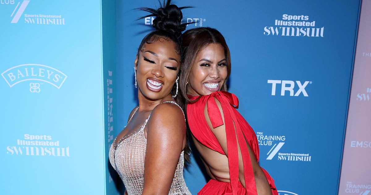 Please Enjoy These Pics of Megan Thee Stallion and Leyna Bloom Celebrating Their SI Covers.jpg