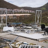A look at the Concordia area of Saint-Martin on Sept. 7, post-Hurricane Irma.