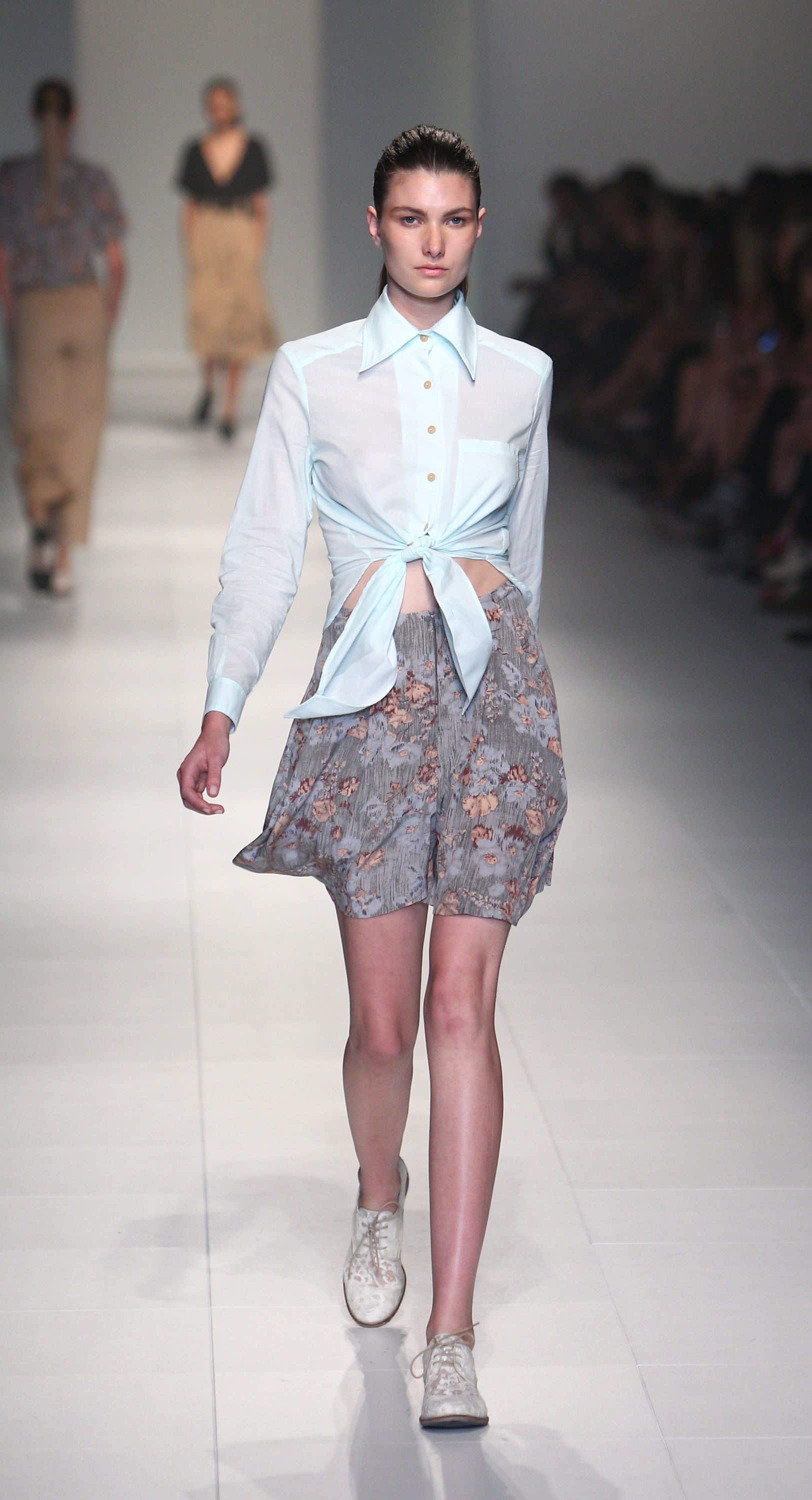 Dress Up's tied up shirts were a modern take on a 50s classic.