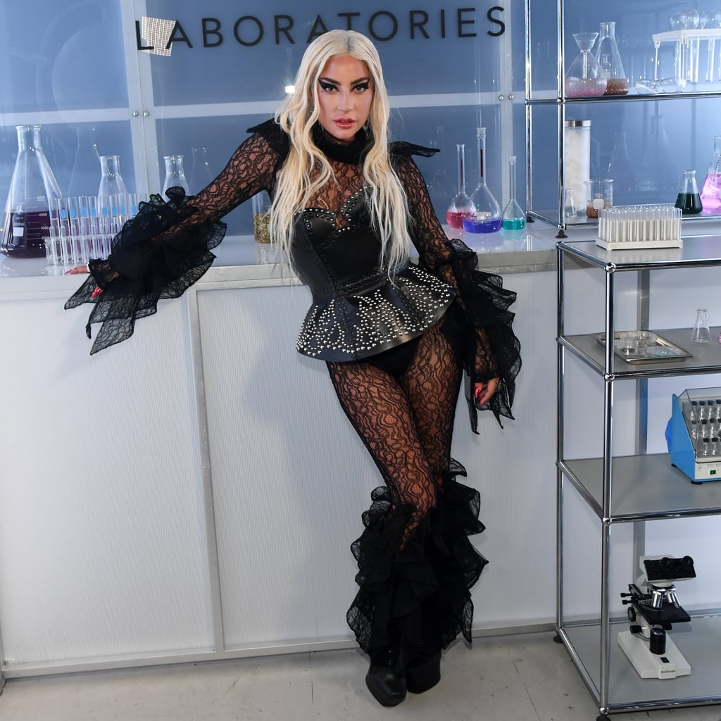 "Lady Gaga celebrated the launch of her Haus Laboratories beauty line at Santa Monica's Barker Hangar on Monday night. The 33-year-old singer steamed up the event in not one, but three different black ensembles, giving us flashbacks to her Met Gala appearance from earlier this year. In fact, she was so ""snatched"" that she didn't know what to do.   I am so snatched right now I don't know what to do— Lady Gaga (@ladygaga) September 17, 2019     During the event, Gaga DJ'd a set and posed for photos with her makeup artist, Sarah Tanno, and producer Bobby Campbell. She also delivered an inspiring speech about the power of makeup before debuting her collection, which is available at HausLabs.com and on Amazon. ""I have always, even prior to my career, wanted to spread love around the world,"" Gaga told the crowd. ""At first I found that way through music, but it was the discovery of makeup that helped me transform into the artist and person I always wanted to be. It helped me to love myself. No matter what. With the makeup or not . . . I'm standing here braver than I've ever been. I'm overcoming obstacles. I'm dealing with my own mental health issues around fame. And finally, being able to really show up for the world the way that I want to, in the way that I believe I'm supposed to."" Gaga's latest appearance comes amid reports that she's dating audio engineer Dan Horton following her February split from Christian Carino. The two were photographed kissing during a brunch date in Studio City, CA, back in July, and two months later, fans spotted them together at The Cure concert in Pasadena, CA. Between her new beauty line and a possible new romance, Gaga certainly has plenty to be excited about.        Related:                                                                                                           20 Thirst-Inducing Lady Gaga Bikini Photos That Will Leave You Begging For a Glass of Water"
