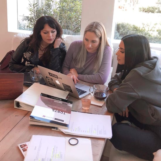 Kim Kardashian Instagram Photo About Studying Law April 2019