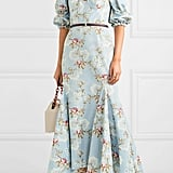 Brock Collection Floral-print cotton-blend faille dress