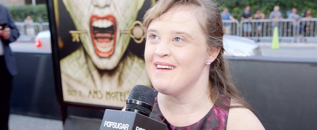 Jamie Brewer Talks American Horror Story: Hotel
