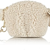 Tory Burch Larry Lamb Faux Shearling Keychain ($115)