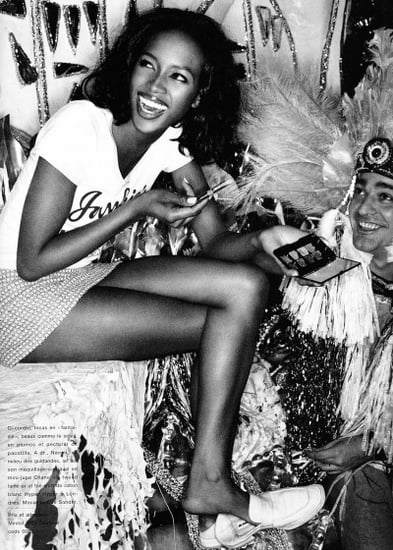 Naomi Campbell by Mario Testino for Glamour France July 1994