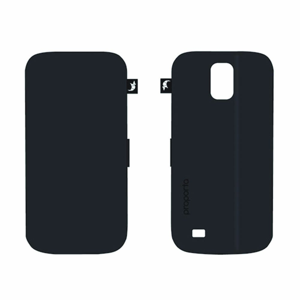 Proporta Black Folio Flip Cover ($25)