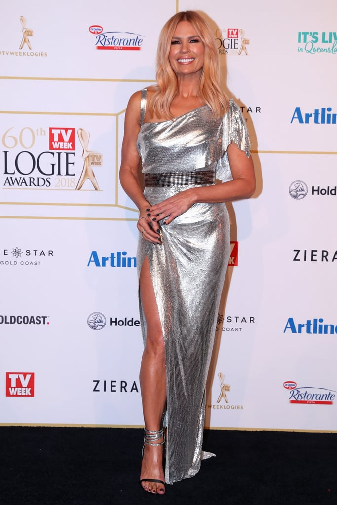 Sonia Kruger 2018 Logies Red Carpet Dresses Popsugar Fashion