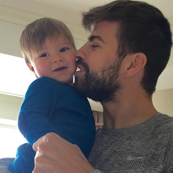 Shakira's Son Sasha Celebrates Gerard Pique's Goal June 2016