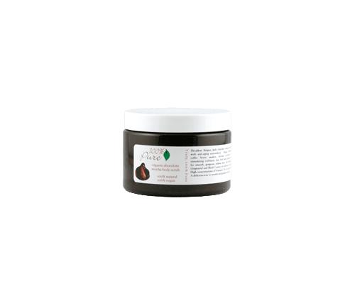 100% Pure Organic Chocolate Mocha Body Scrub