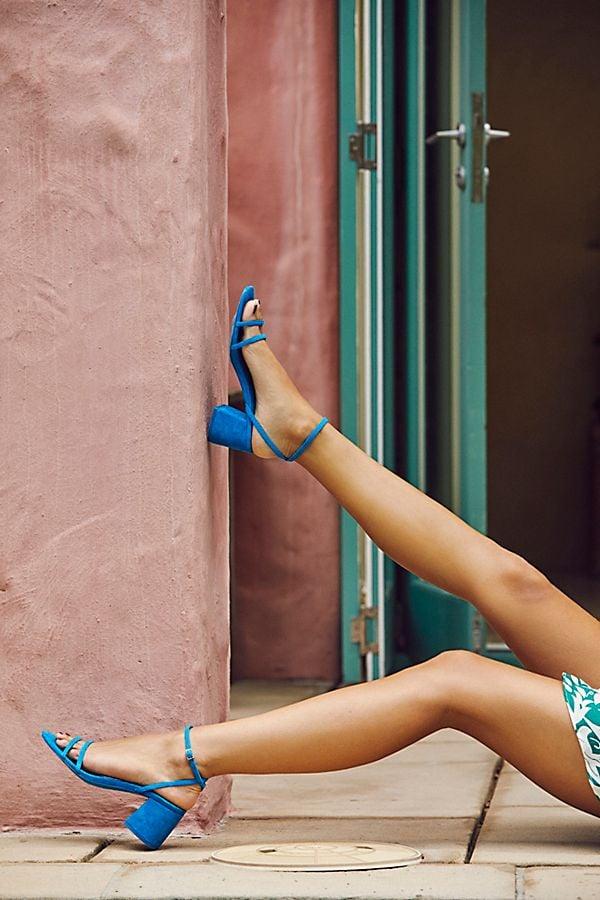 FP Collection Gabby Block Heels