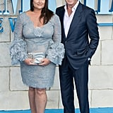 Pictured: Pierce Brosnan and Keely Shaye Smith