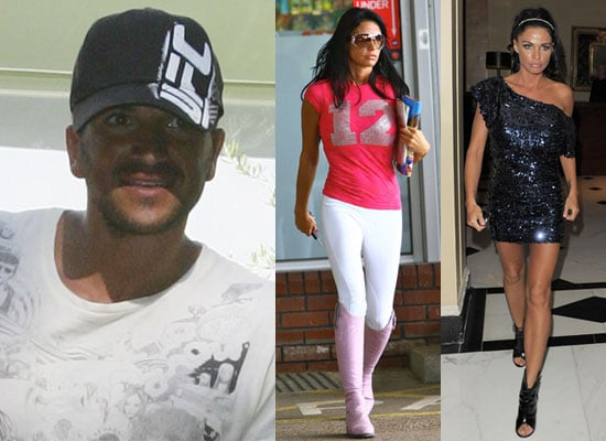 Photos of Katie Price on a Night Out and Peter Andre With the Kids