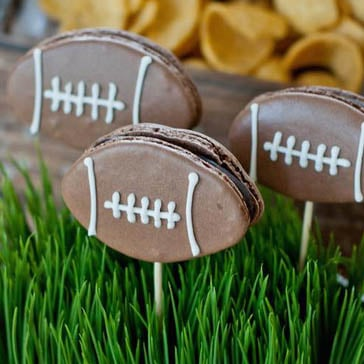 Vintage-Style Football Party