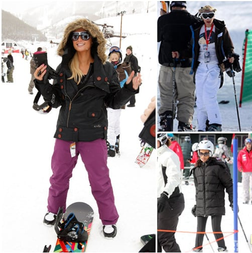 Pictures of Celebrities Who Ski and Snowboard