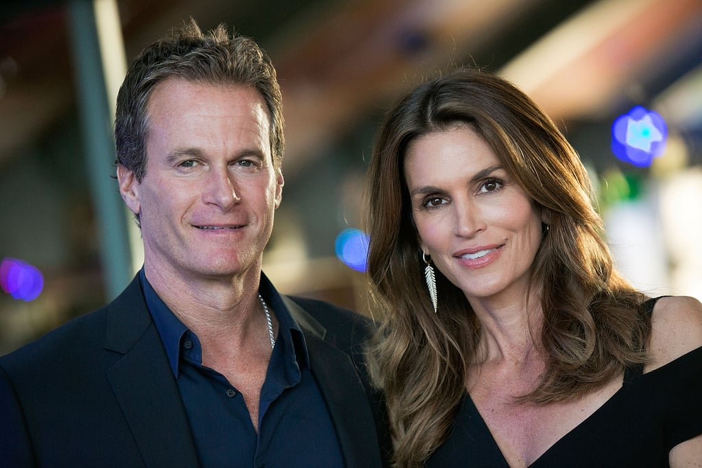 Cindy Crawford and Rande Gerber are one good-looking couple! On Friday, the duo attended the Champion of Children Awards Gala in Malibu, CA, where they served as hosts for the evening. Cindy stunned, per usual, in an all-black ensemble, while Rande kept things dapper in jeans and a blazer. This is just the latest we've seen of the couple since they turned heads at Balmain's Met Gala afterparty earlier this month, though Cindy has been active on Instagram, giving us a closer look at her fabulous family. Read on for more of the couple, then see what Cindy revealed about her plans to retire from modeling.