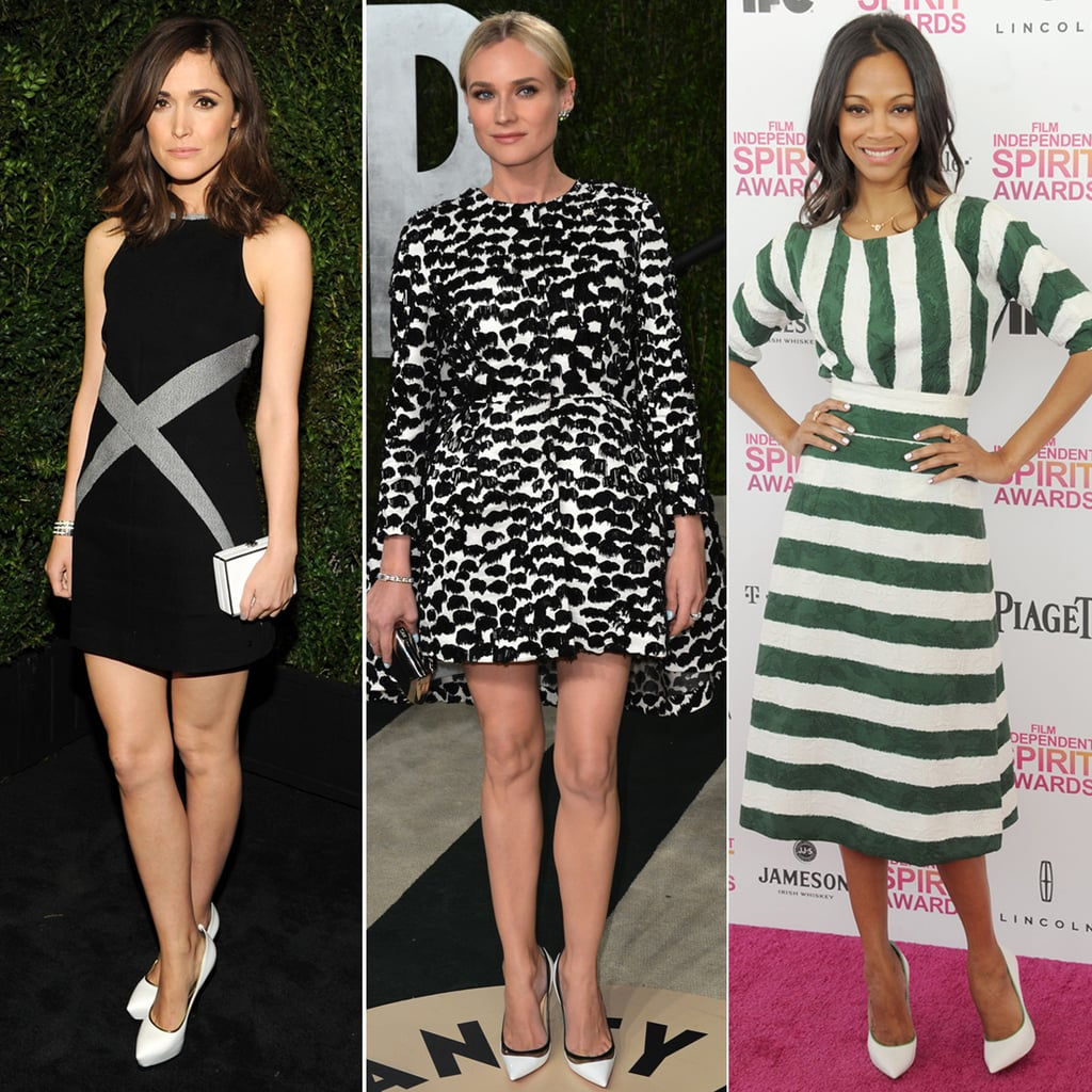 15 Stars Show Off a Fresh Shoe Trend: White Pumps