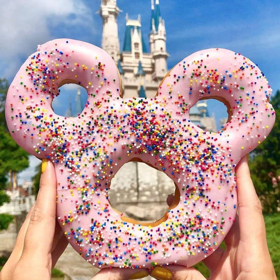 Disney Frosted Mickey Celebration Doughnut at Magic Kingdom