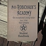 Miss Robichaux's Academy Wood Stash Box