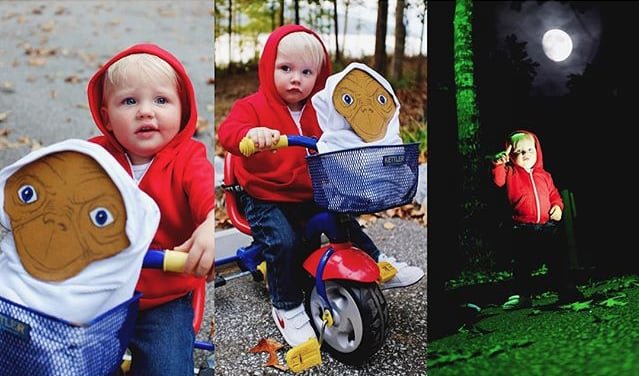 This Mom DIYs Her Son Multiple Halloween Costumes a Year