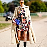 Add Some Drama to Your Outfit by Wearing a Cape-Inspired Coat
