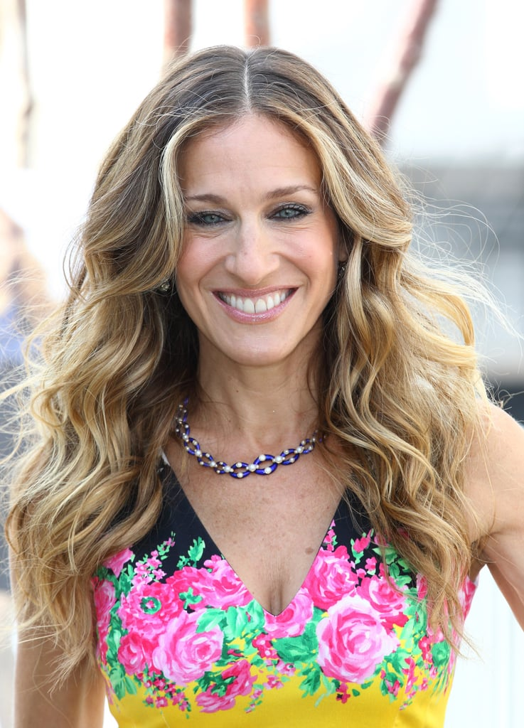 Sarah Jessica Parker smiles in London.