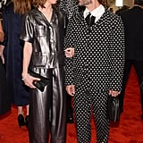 Sofia Coppola, with Marc Jacobs, wore Fall 2013 Marc Jacobs at the 2013 Met Gala. Source: Joe Schildhorn/BFAnyc.com