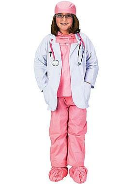 Child Premium Pink Jr. Physicians Costume ($55)