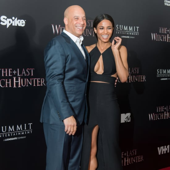 Vin Diesel and Ciara on Red Carpet October 2015
