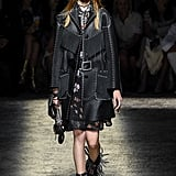 Coach's leather jackets received a bit of flair with a fringe down the front.