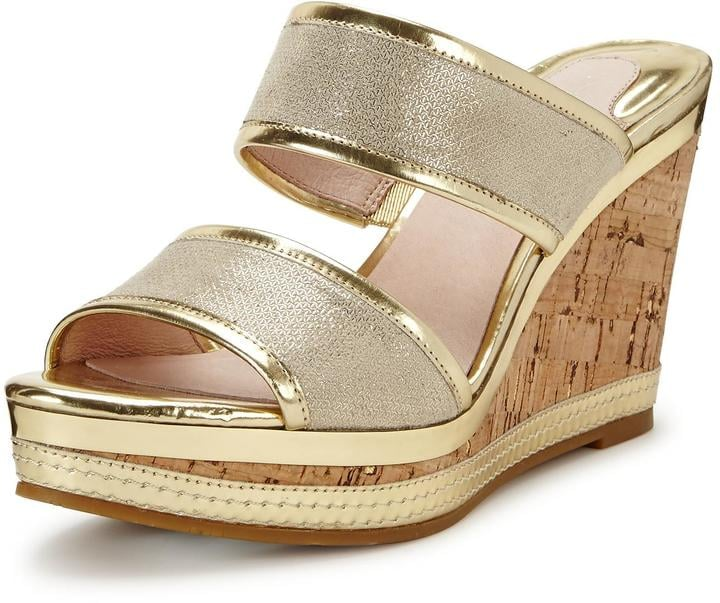 e4d6ec743d3 Moda In Pelle Pinta Gold Wedge Sandals | Best Wedge Sandals For ...